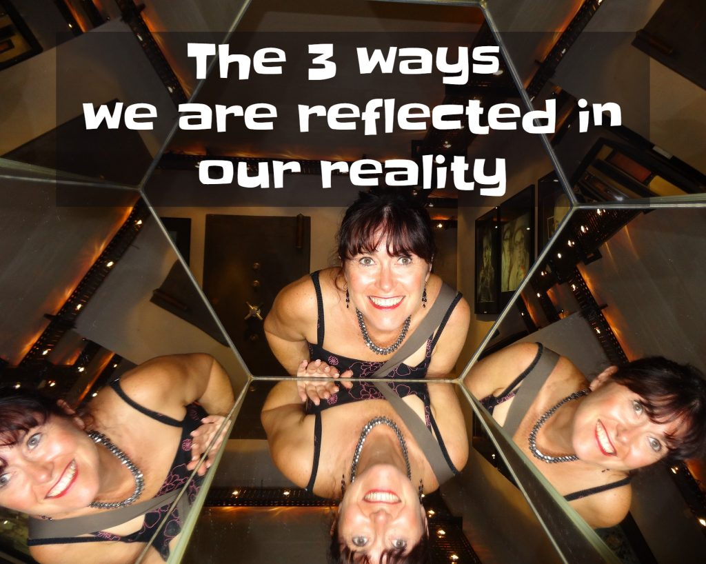 the world is a reflection of yourself